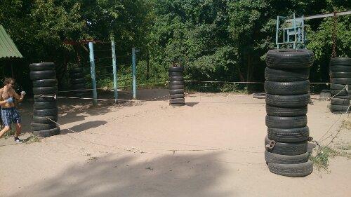 Katsjalka, Kachalka, Качалка, Гидропарк, Hydropark, Utendørs treningssenter, Kiev