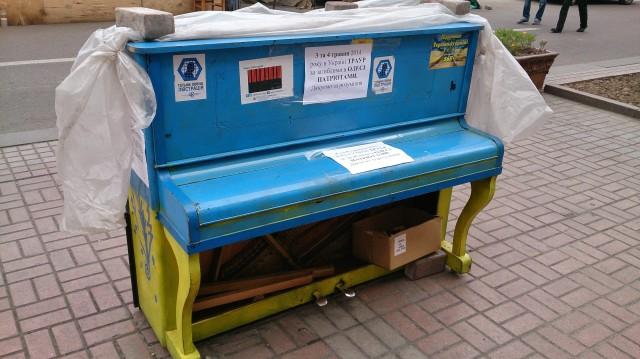 Kiev, Demonstrasjoner, Euromaidan, Odessa, Krise i Ukraina, Piano, Ukraina