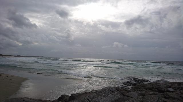Hellestø, Strand, Jærstrender, Hav og himmel, Himmel og hav, Sol i skyer, Naturen, Mektig, Sublim, Svaberg, Strand